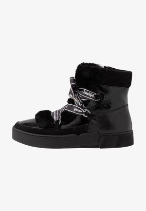 DRALA - Lace-up ankle boots - schwarz
