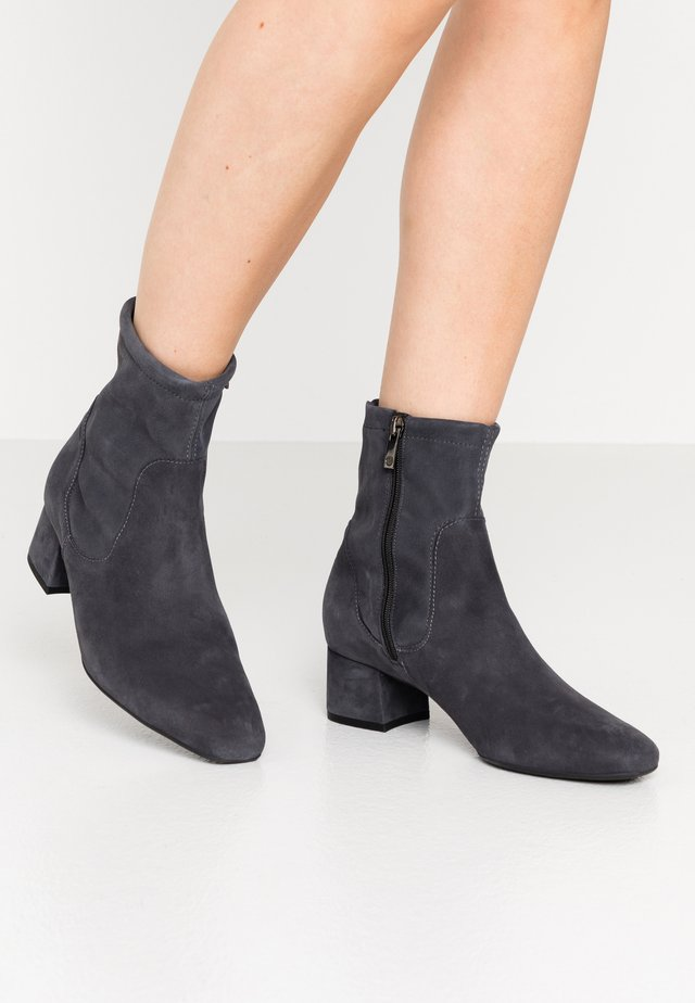 TIALDA - Classic ankle boots - iron