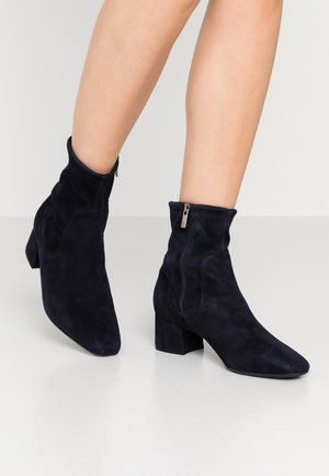 TIALDA - Classic ankle boots - navy
