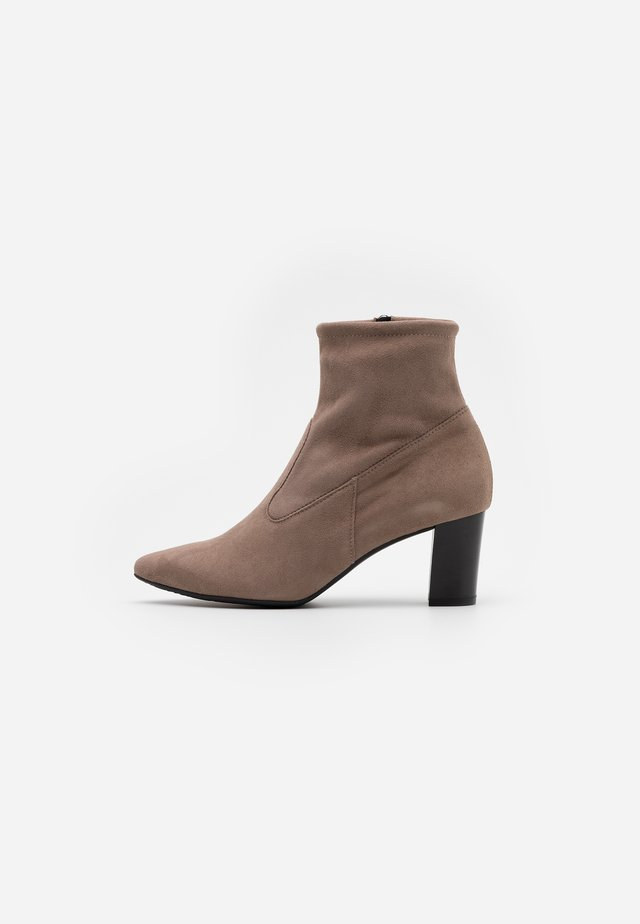 MARGIE - Classic ankle boots - sand