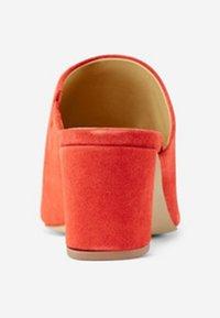 Pieces - Heeled mules - aura orange - 3