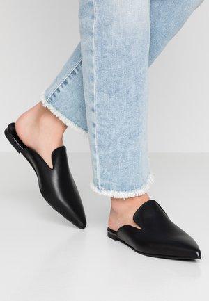 PSCINTIA MULE - Pantofle - black