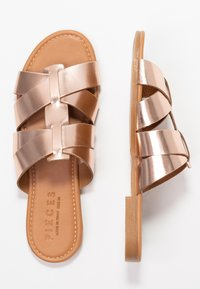 Pieces - PSABELLA - Mules - rose gold - 3