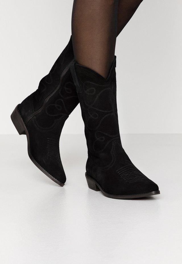 PSJESSIE BOOT - Cowboy/Biker boots - black
