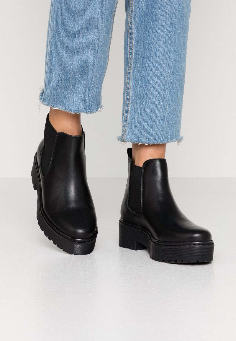 Pieces - PSJILL - Boots à talons - black