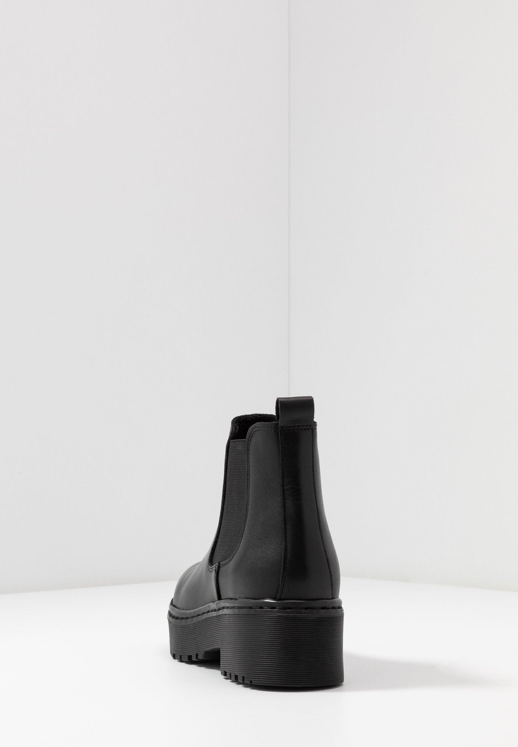 Pieces Psjill - Boots À Talons Black