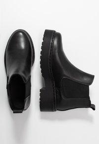 Pieces - PSJILL - Boots à talons - black - 3
