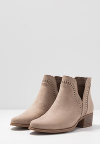 Pieces - PSARIN - Ankle boot - tannin - 4