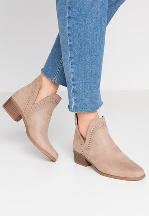 PSARIN - Ankle boots - tannin