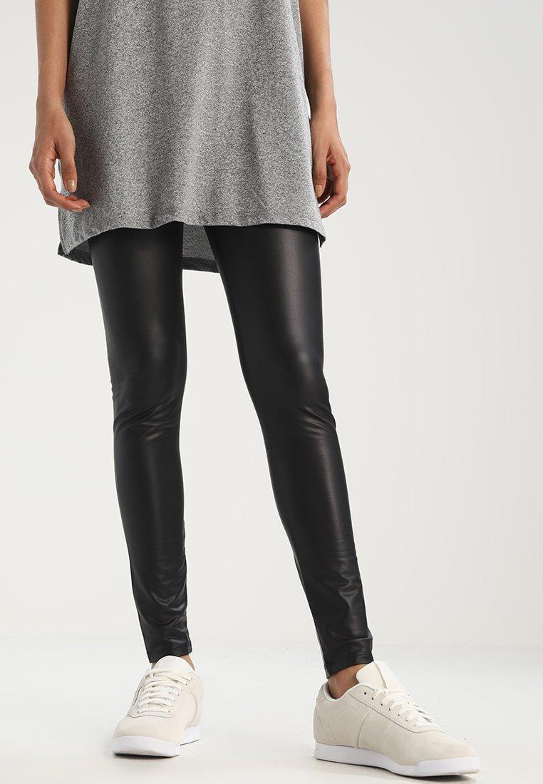 Pieces - SHINY  - Leggings - black