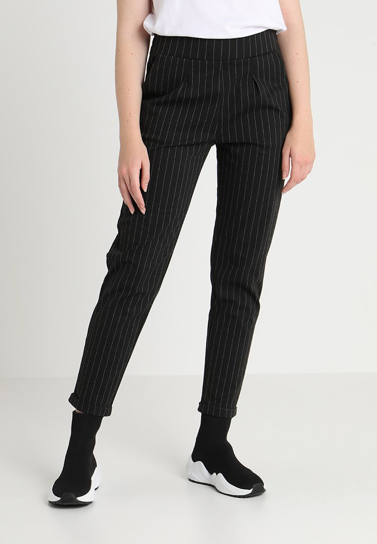 Pieces - PCARIA  - Trousers - black
