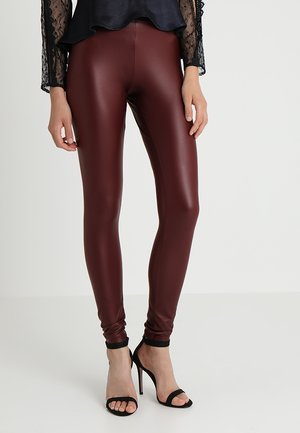 GLÄNZENDE - Leggings - port royale