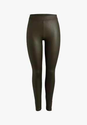 GLÄNZENDE - Leggings - dark olive