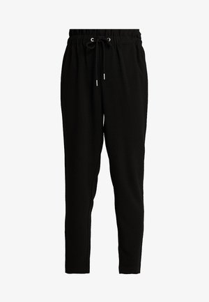 PCLINDA ANKLE PANTS - Trousers - black