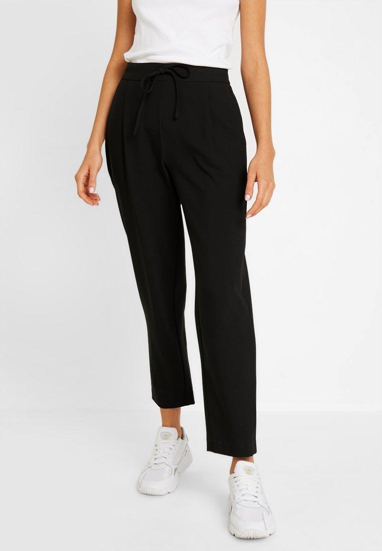 Pieces - PCSIA ANKLE PANTS - Trousers - black