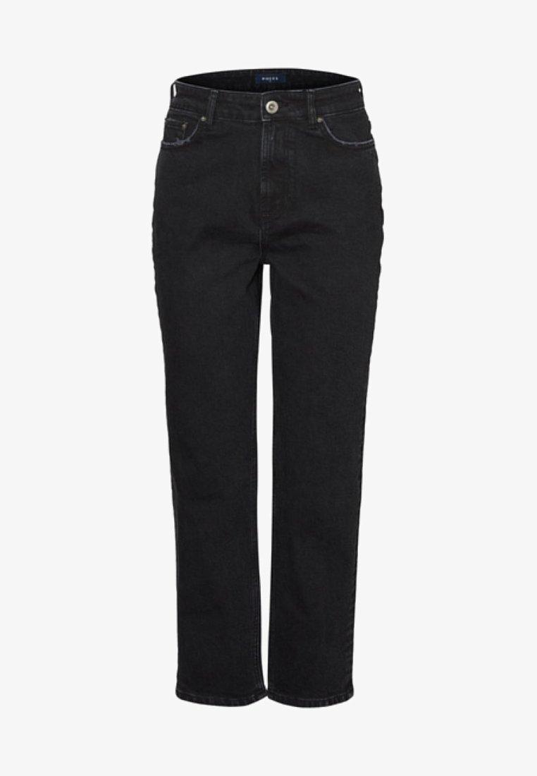 Pieces - Jeans Straight Leg - black