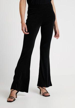 PCESMERALDA PANTS - Bukse - black
