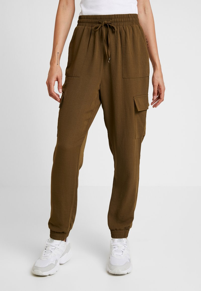 Pieces - PCYKIA PANTS - Pantalones - beech