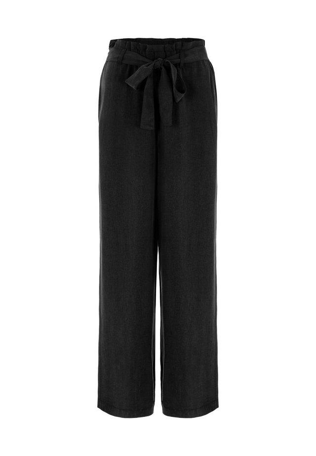 AMPLE - Spodnie materiałowe - black