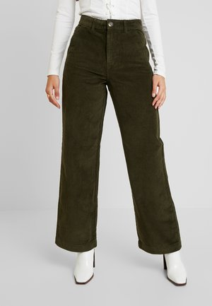 PCHALI WIDE PANTS - Broek - forest night