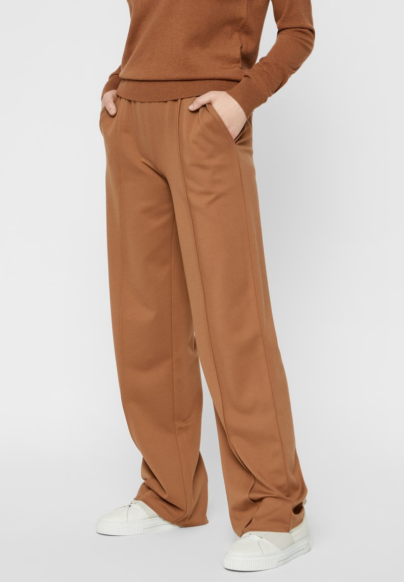Pieces - Pantalones - brown
