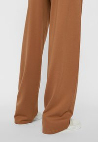 Pieces - Trousers - brown - 4