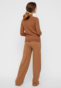 Pieces - Trousers - brown - 2