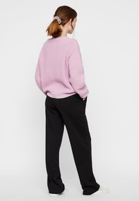 Pieces - Trousers - black - 2