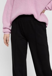 Pieces - Trousers - black - 3