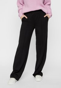 Pieces - Trousers - black - 0