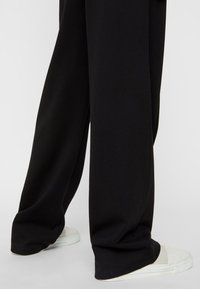 Pieces - Trousers - black - 4