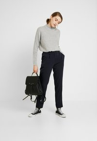 Pieces - Trousers - night sky/bright white - 1