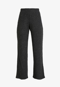 Pieces - Trousers - dark grey melange - 3