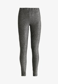 Pieces - Trousers - black/silver - 3