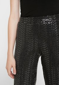 Pieces - Leggings - black/silver - 4