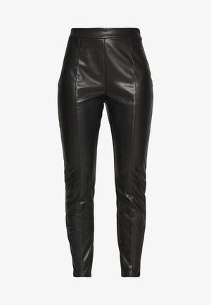 PCJUNNA PANTS - Leggings - Trousers - black