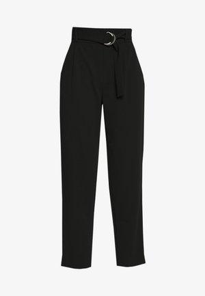 PCNALA PANTS - Spodnie materiałowe - black