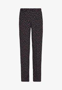 Pieces - PCNIMMA WIDE PANT - Pantalon classique - black - 4