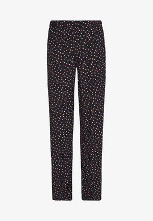 PCNIMMA WIDE PANT - Pantalon classique - black
