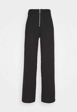 PCMIYA PANTS - Pantalones - black
