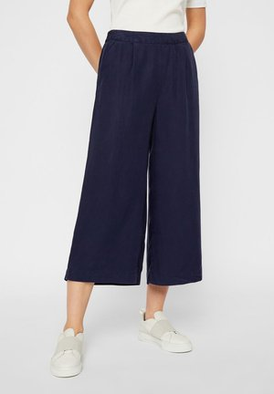 Trousers - evening blue