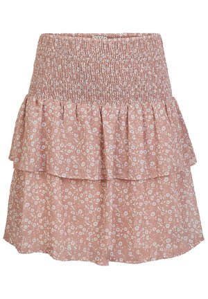 A-line skirt - misty rose