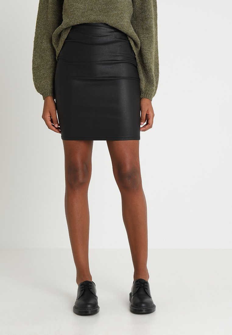 Pieces - PCPARO SKIRT - Pencil skirt - black