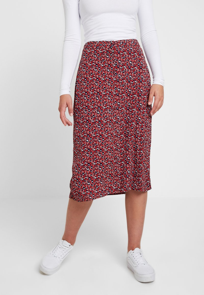 Pieces - PCHELLIAN MIDI SKIRT - A-Linien-Rock - picante