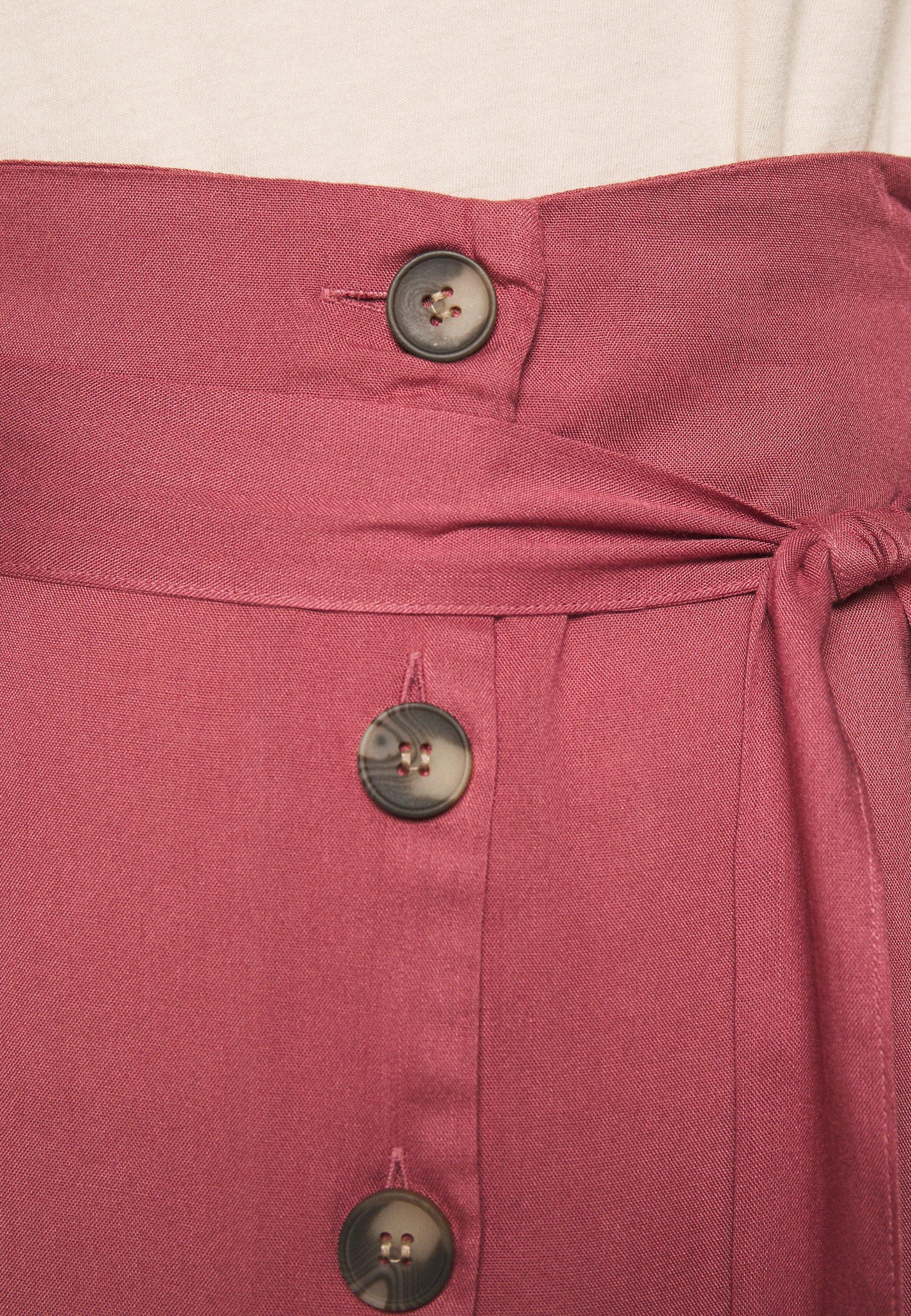 Pieces PCELSA SKIRT  - Spódnica trapezowa - deco rose