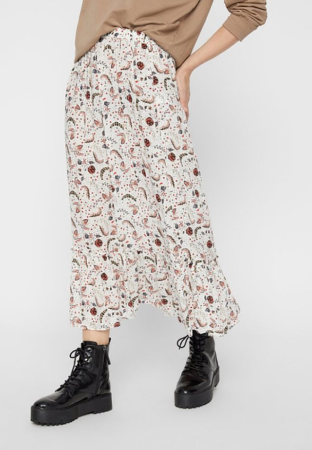 Maxi skirt - bright white