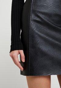 Pieces - Minifalda - black - 4