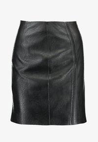 Pieces - Minifalda - black - 3