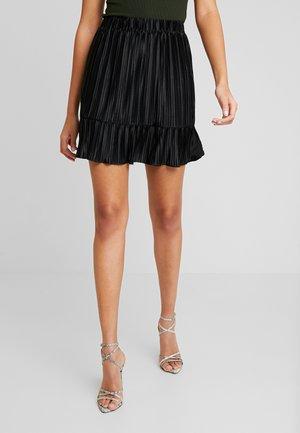 PCNIKA SKIRT - Spódnica plisowana - black