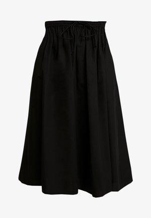 PCBRIANNA MIDI SKIRT - Áčková sukně - black